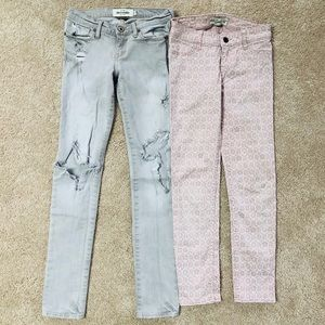 Abercrombie & Fitch Distressed jeans Girls 12 Slim